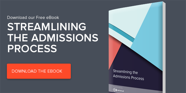 Free eBook: Streamlining the Admissions Process