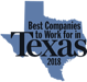 Best Company to Work for Texas 2018